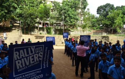 Rally for Rivers – Save India's Lifelines !