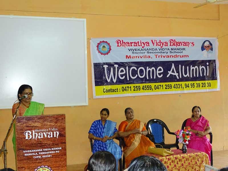 alumni meet 2017 - bhavans manvila school trivandrum