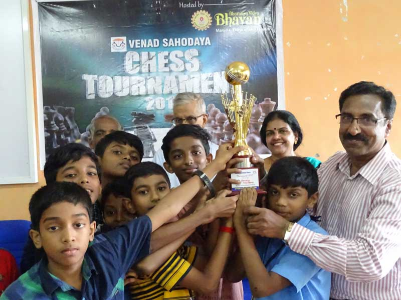 Sahodaya Chess Tournament - Bhavans Manvila School - Trivandrum