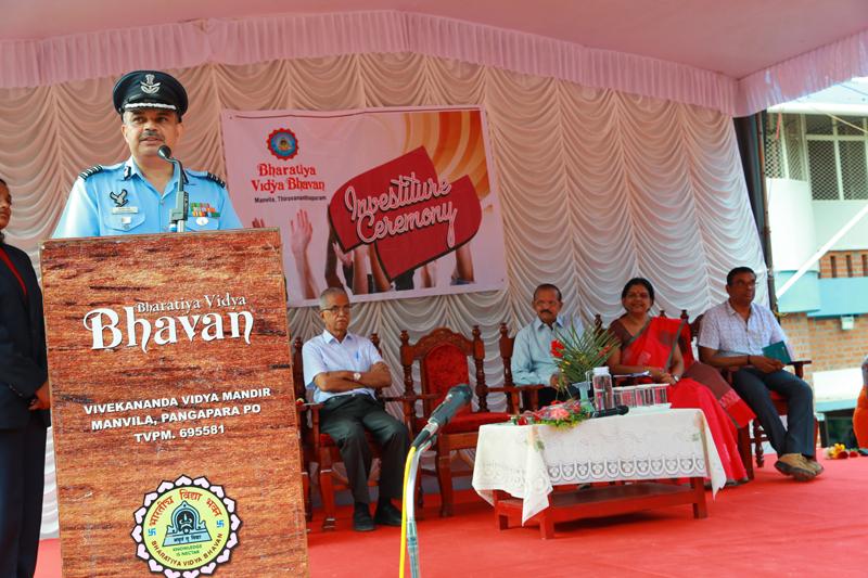 Investiture Ceremony 2019 – Bhavans Manvila School Trivandrum (7)