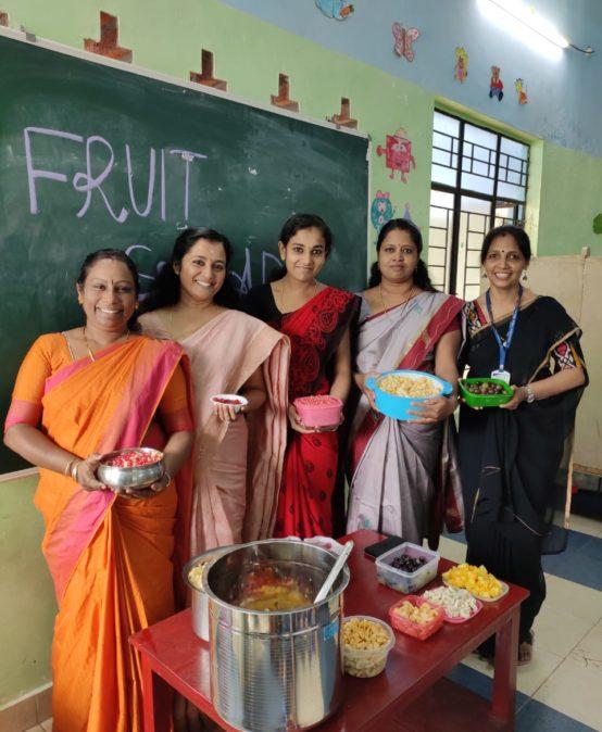 KG Section-Fruit Salad Day – Bhavans Manvila School Trivandrum (4)