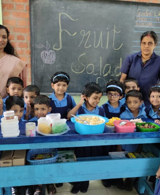 KG Section-Fruit Salad Day – Bhavans Manvila School Trivandrum (5)