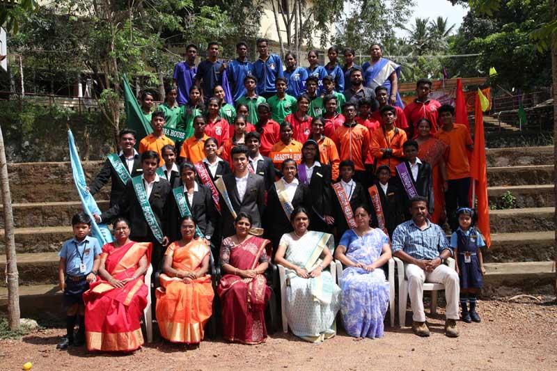 investitute ceremony - bhavans manvila school trivandrum