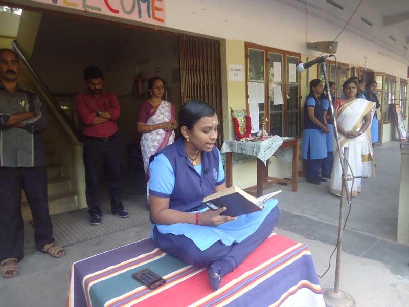 ramayana month - bhavans manvila trivandrum