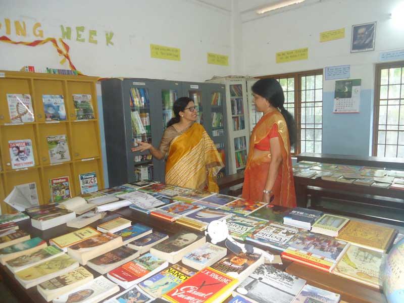 reading week-bhavans manvila school trivandrum