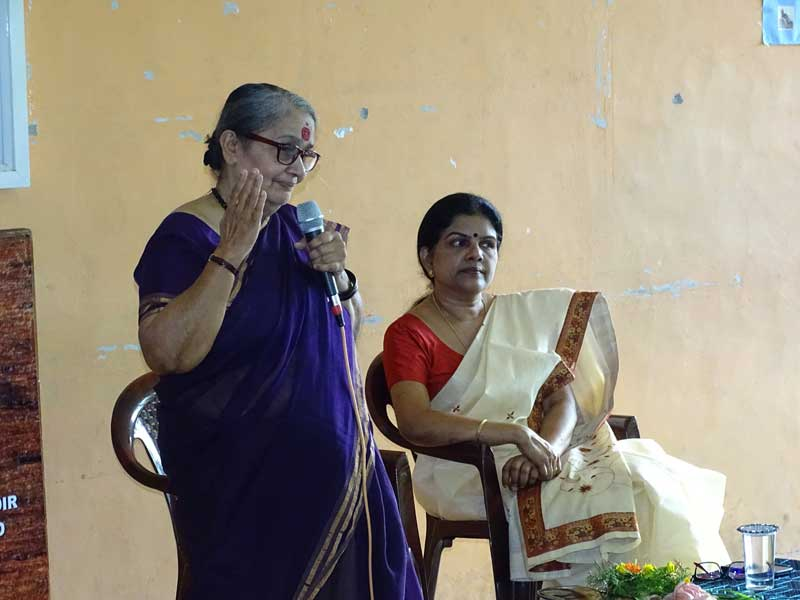 Interaction session with Smt.Vimala Menon