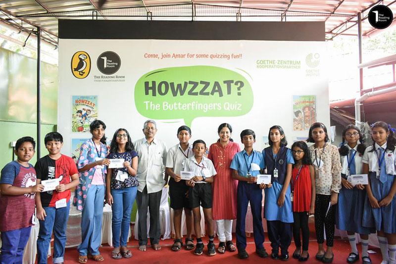 HOWZZAT? -The Butter Fingers Quiz Winners